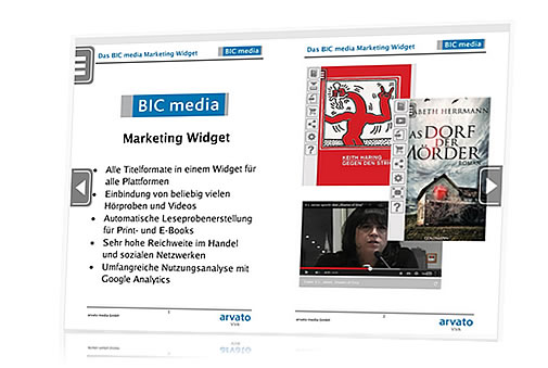 Marketing-Widget