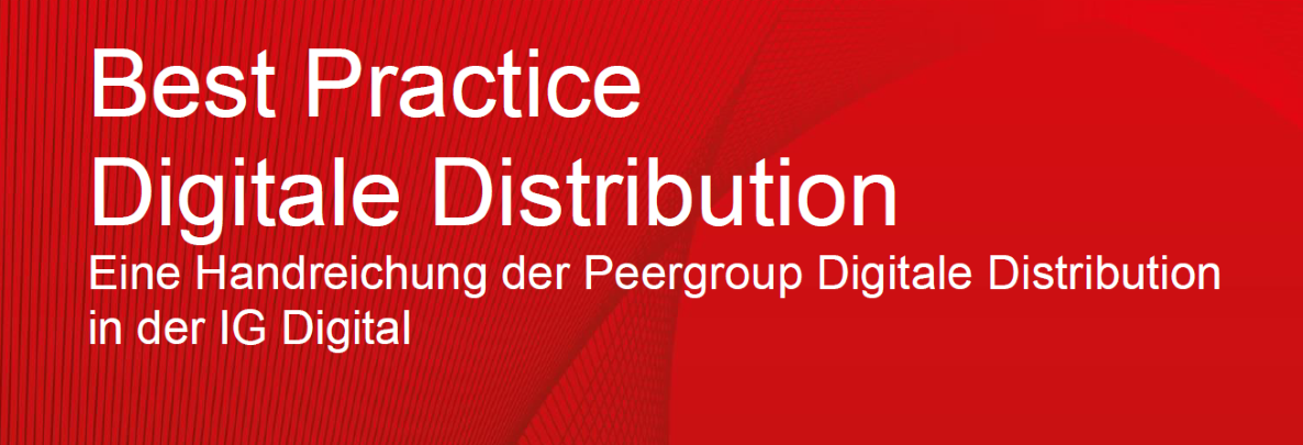 best practice digitale distribution 1 0